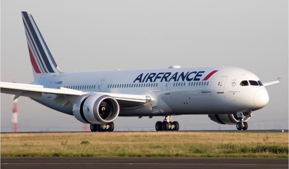Flugzeug der Air France