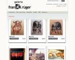 Neuer Webauftritt der Galeria Frank Krüger