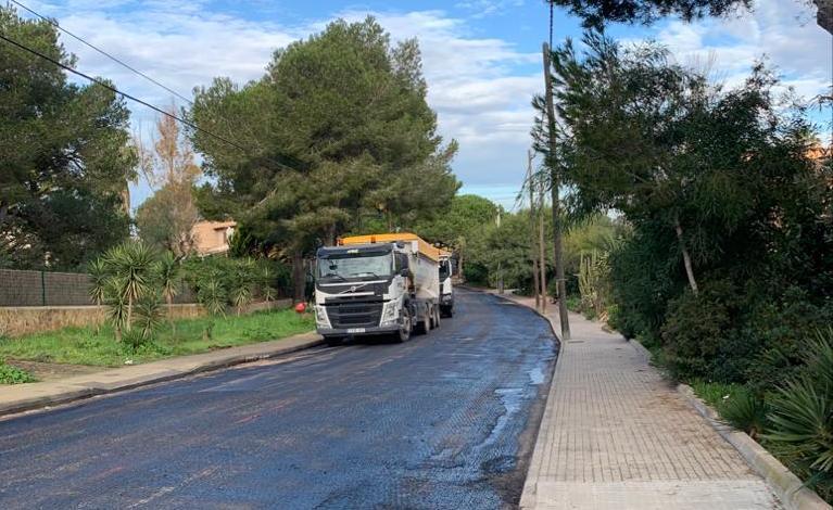 Ses Salines verbessert die Asphaltierung der Straßen