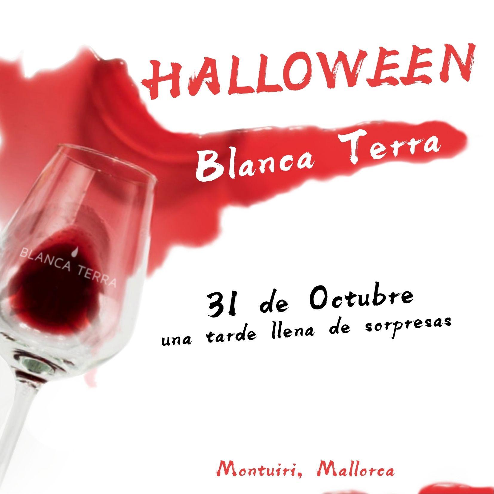 Blanca Terra Invitacion Fiesta de Halloween 2021