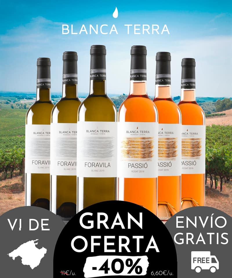 Begrenzter Angebotszeitraum für Weine der Bodega Blanca Terra