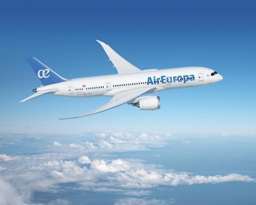 Dreamliner Boeing 787 von Air Europa