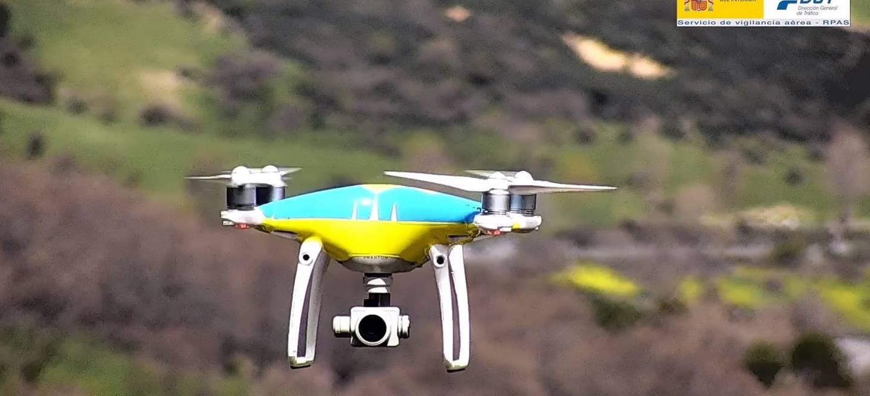 Drohne der DGT