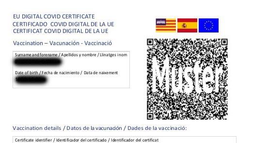 EU Digital-Zertifikat