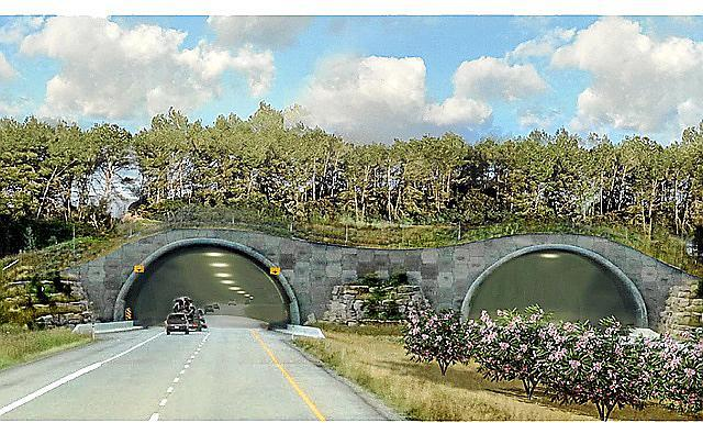 Eco-Tunnel bei Calvià