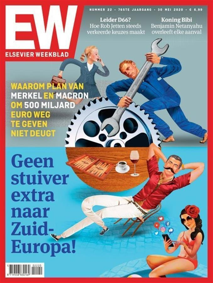 """Eine niederländische Wochenzeitung bezeichnet die Spanier und Italiener als """"faul"""""""