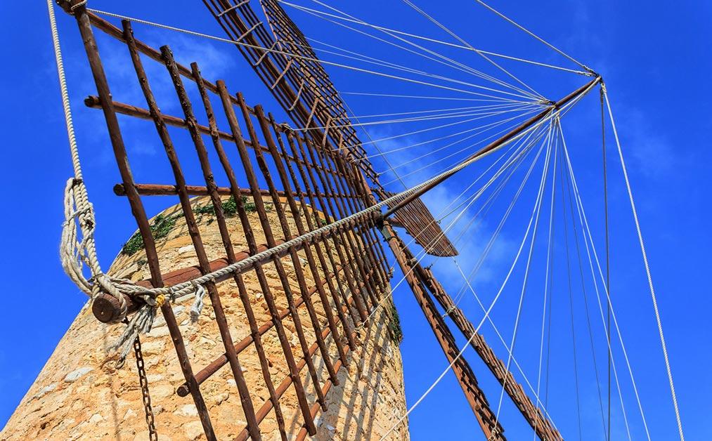 Alte Mühle auf Mallorca