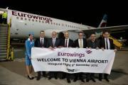 Eurowings startet neue Strecken ab Wien