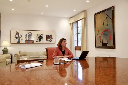 Präsidentin Francina Armengol