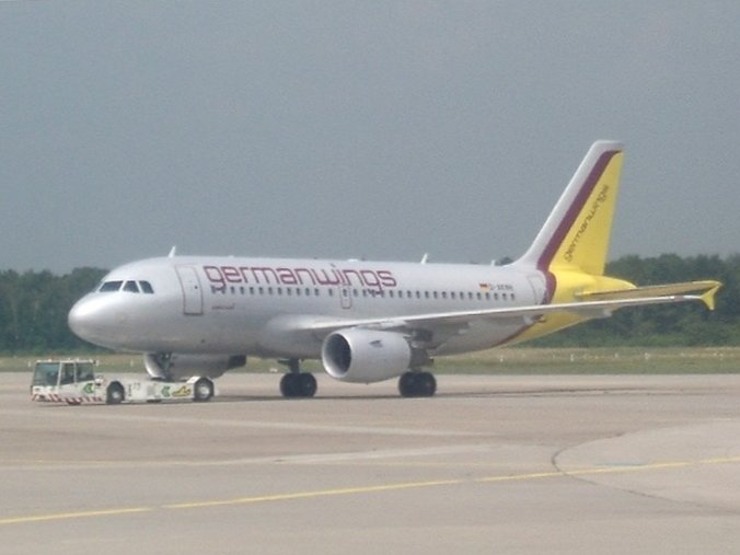 Flugzeug der Airline Germanwings