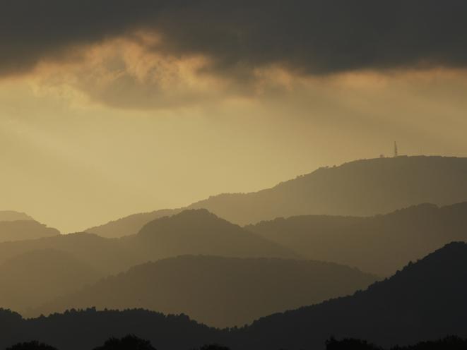 Gewitter im Tramuntana-Gebirge