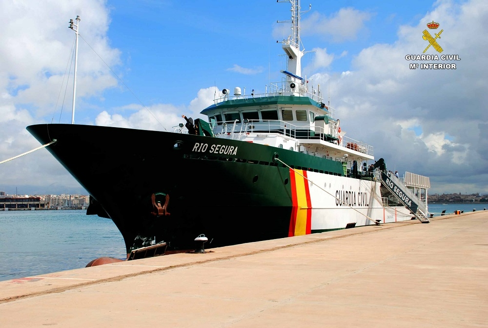 Einsatzschiff der Guardia Civil
