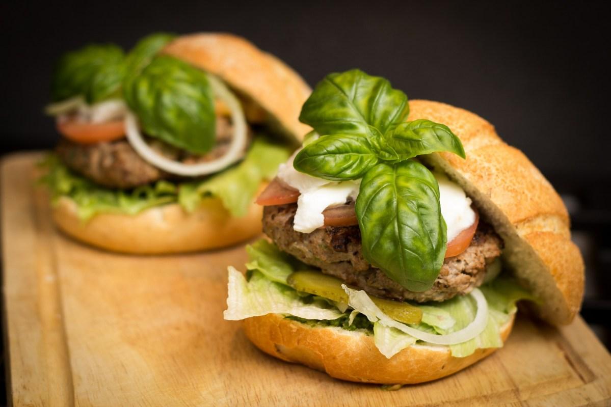 Schmackhafter Hamburger