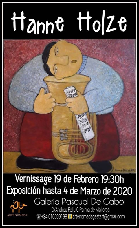 Galerie PASCUAL DE CABO präsentiert Gemälde von Hanne Holze