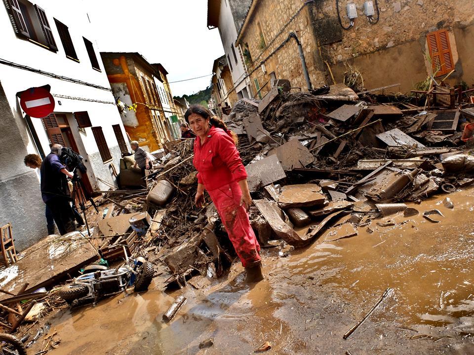 Flutkatastrophe im Llevant de Mallorca