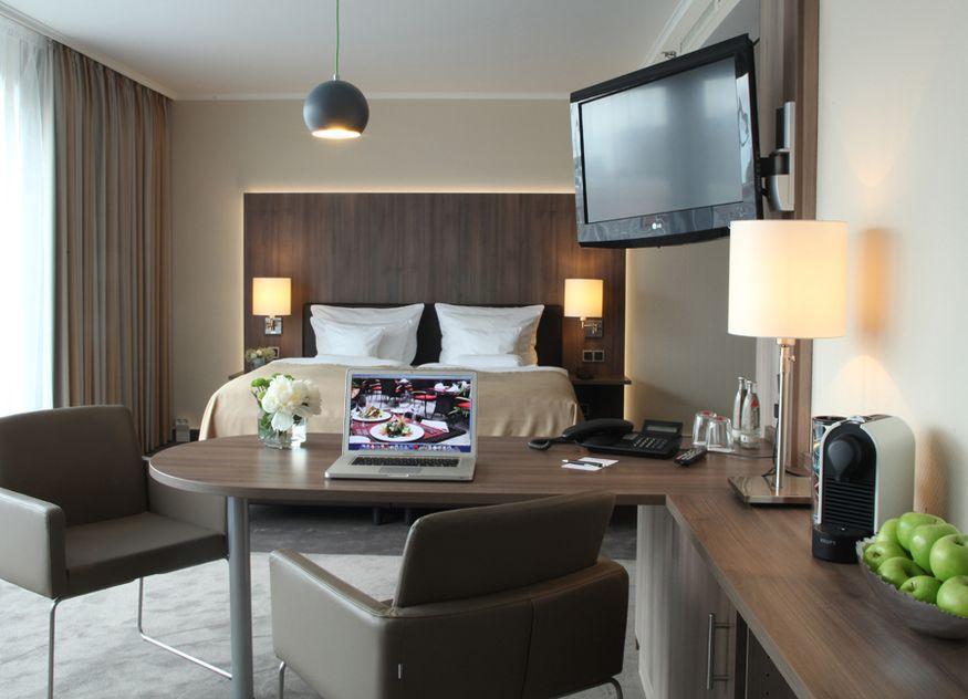 Hotel-Office statt Home-Office bei Lindner