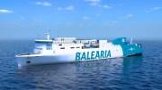 Baleària setzt auf Erdgas
