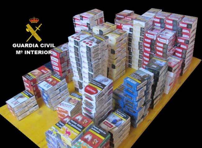 Unerlaubten Tabakverkaufs in Felanitx und Porto Colom