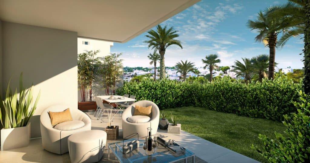 Stilvolle mediterrane Apartments mit Pool am Yachthafen in Cala Dor