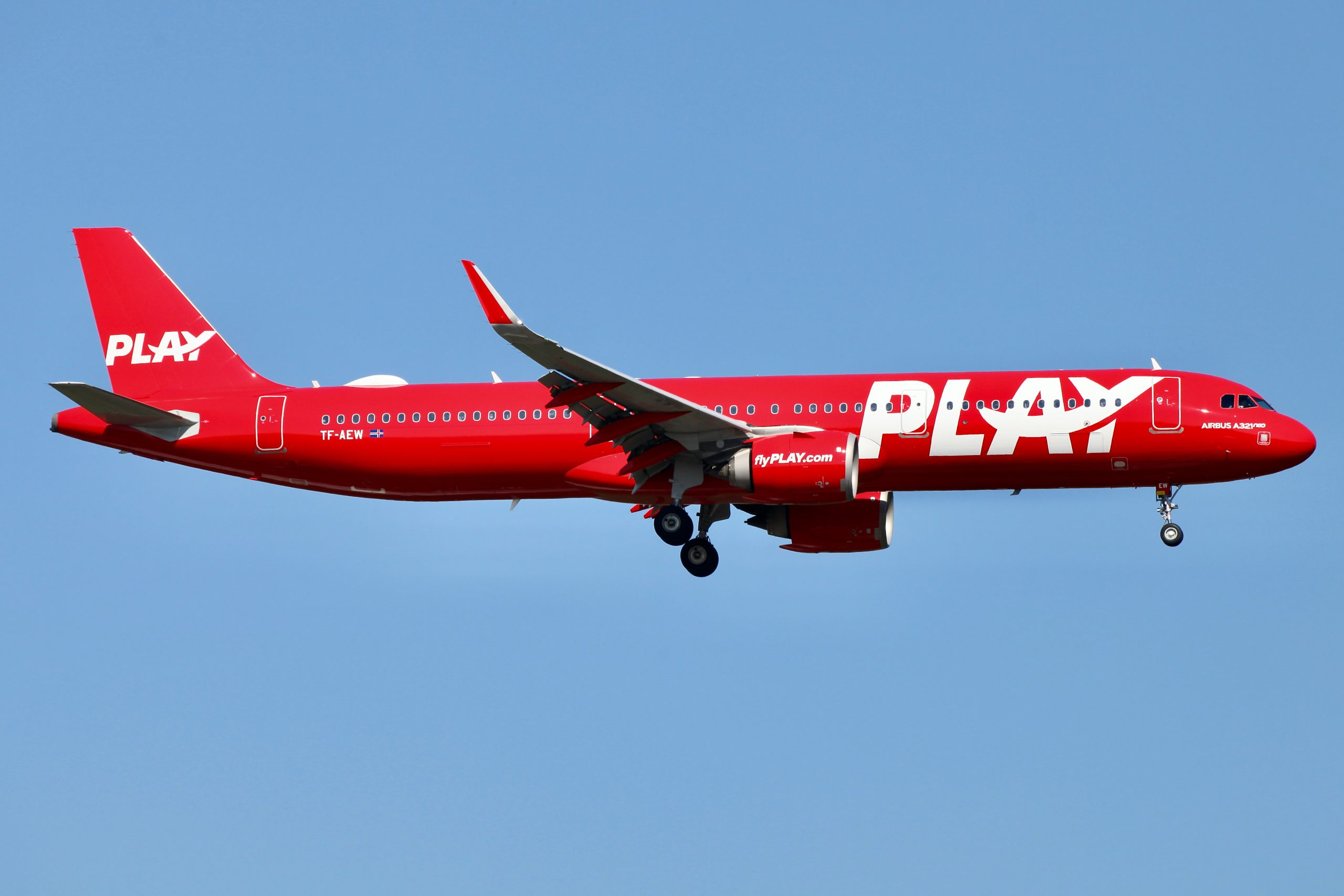 Isländische Billigfluggesellschaft Play