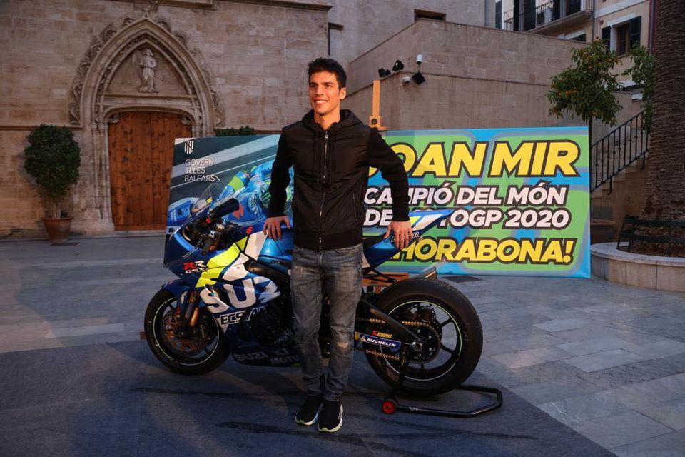 MotoGP-Weltmeister 2020 Joan Mir