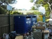 Gewerkschaften halten am Müllstreik in Pla, Raiguer und Son Servera fest