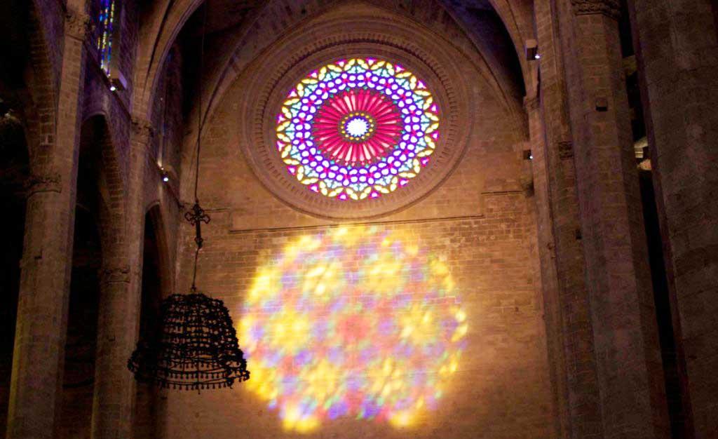 Magische Acht in der Kathedrale von Palma de Mallorca