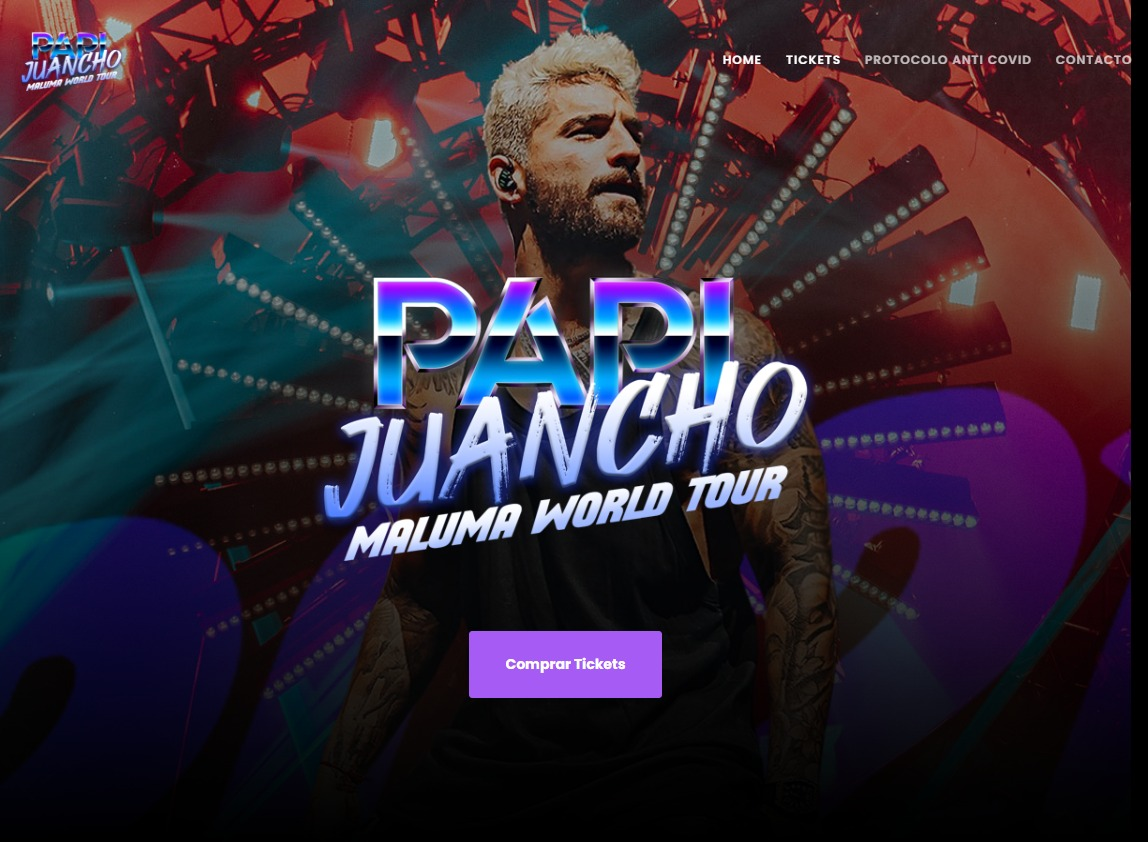 Maluma World Tour 2021