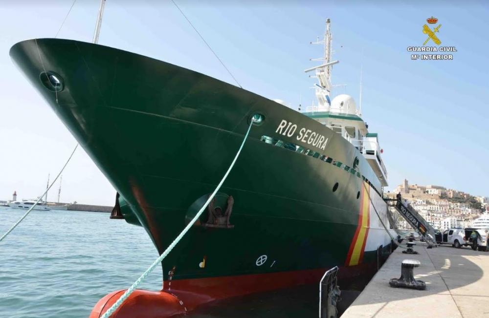 Patroullienboot Rio Segura