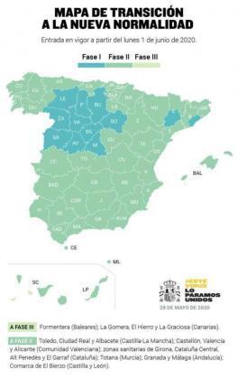 Karte der Deeskalation nach Gemeinden.