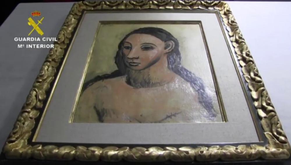Picassos Gemälde Kopf einer jungen Frau