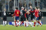 ran Jahrhundertspiel Deutschland gegen Spanien