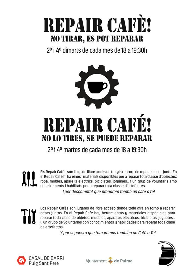 Ab sofort in Palma - Repair Café