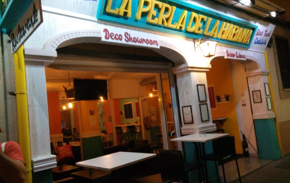 Restaurant La Perla de la Habana Palma