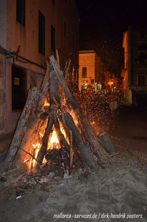 Feuer zu Sant Antoni
