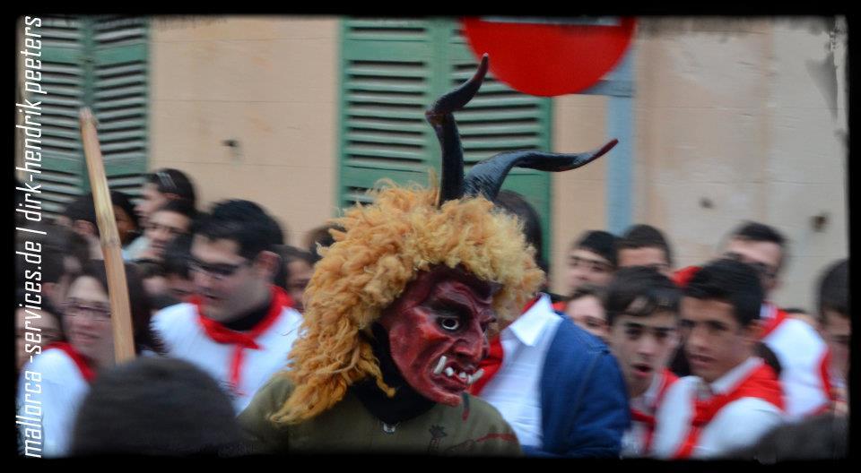 Dimonis zu Sant Antoni