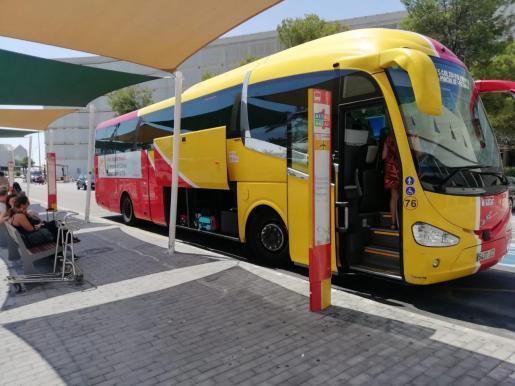 Bus der TIB auf Mallorca