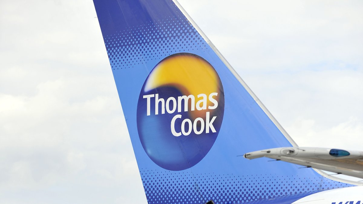 Thomas Cook Airlines Balearics hebt am Samstag ab