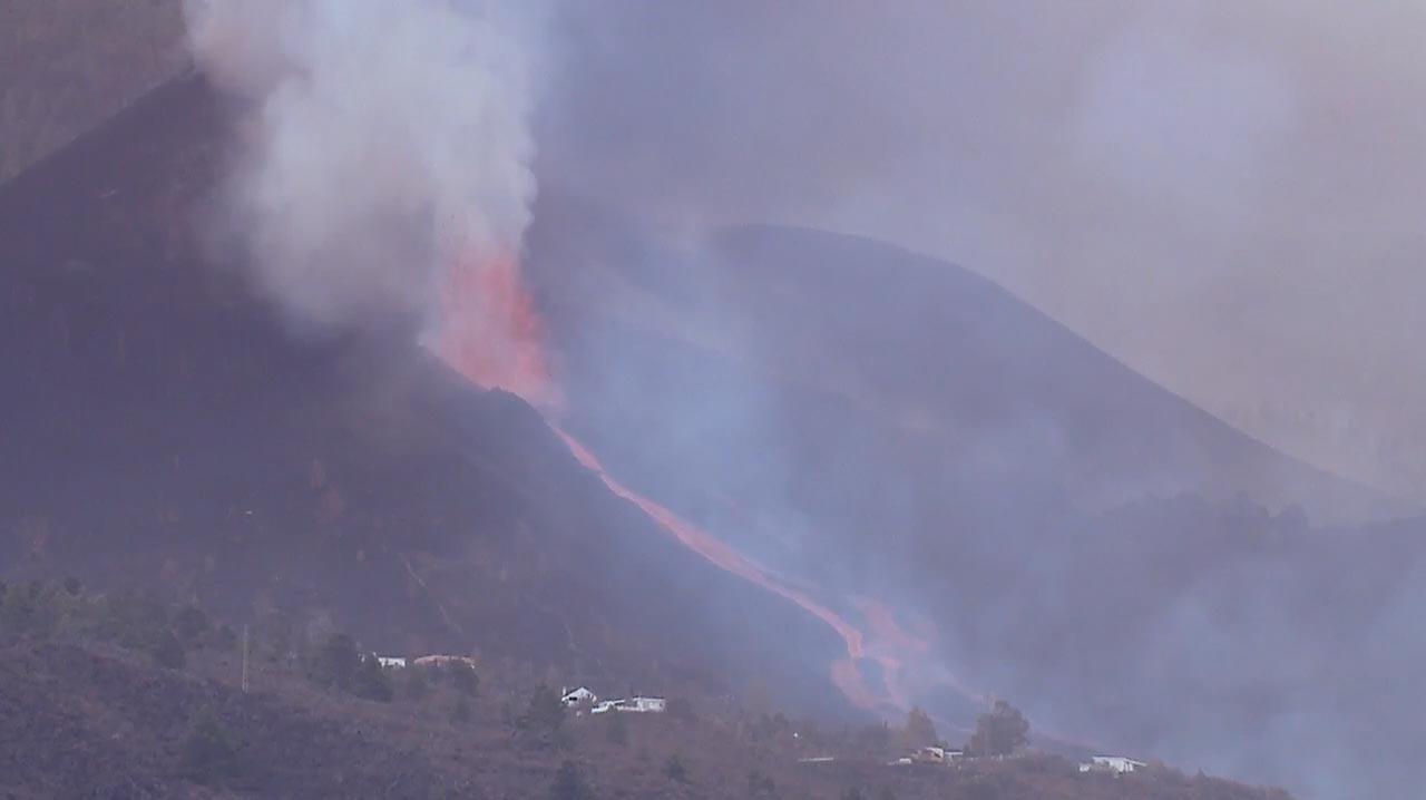 Vulkan auf La Palma speit munter weiter