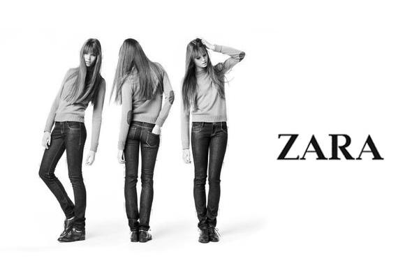 Zu Inditex gehören u.a. Zara, Massimo Dutti, Zara Home, Bershka, ..