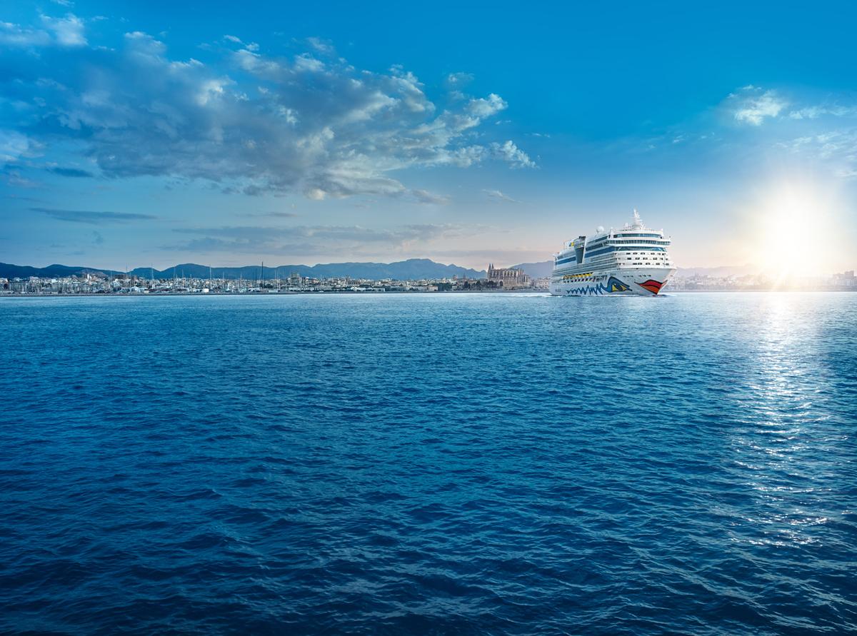 Palma de Mallorca ist Start- und Zielhafen für verschiedenste AIDA Kreuzfahrten