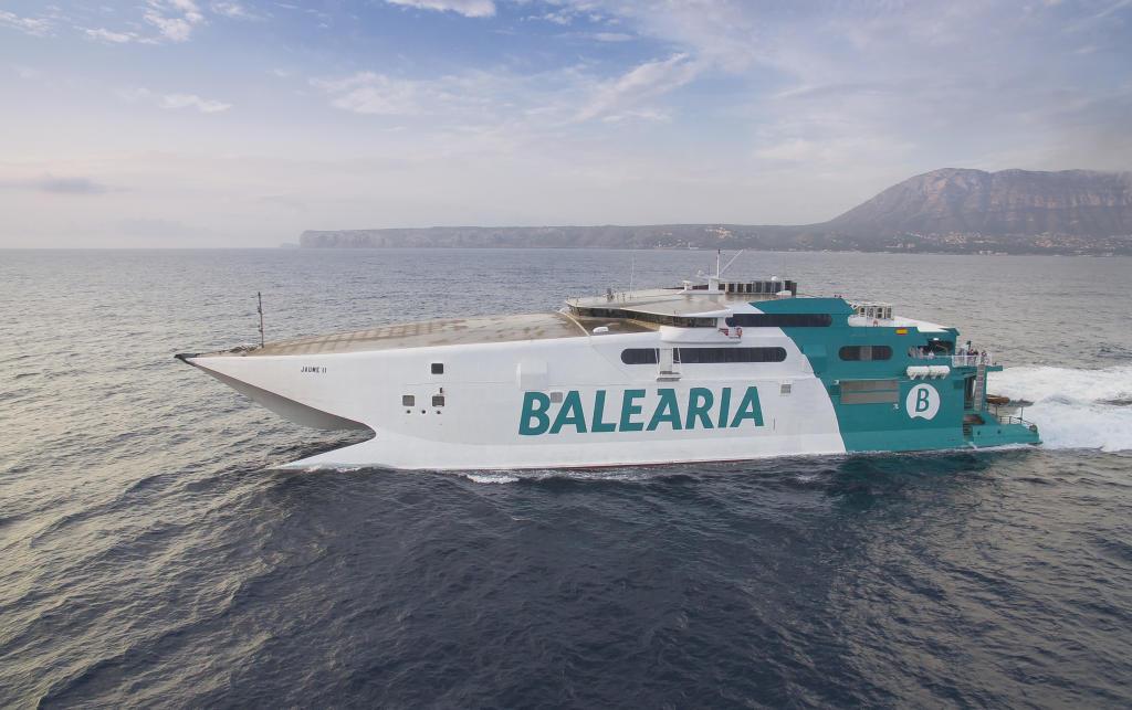 Fähre der Reederei Baleària