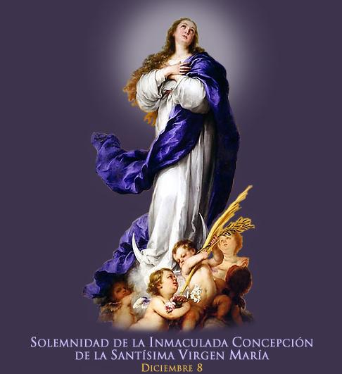 Hochfest der Katholiken - 08.12. | Inmaculada Concepción