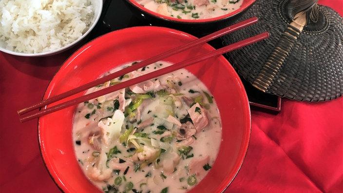 Tom Ka Gai – Thailändische Hühnersuppe