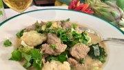 Kokos-Curry mit Kalb und Kartoffeln
