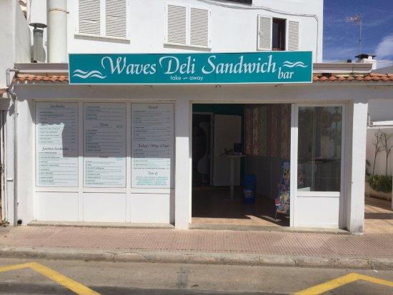 our new sandwich bar