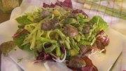 Fenchel mit grünem Spargel, Orangen und Avocado
