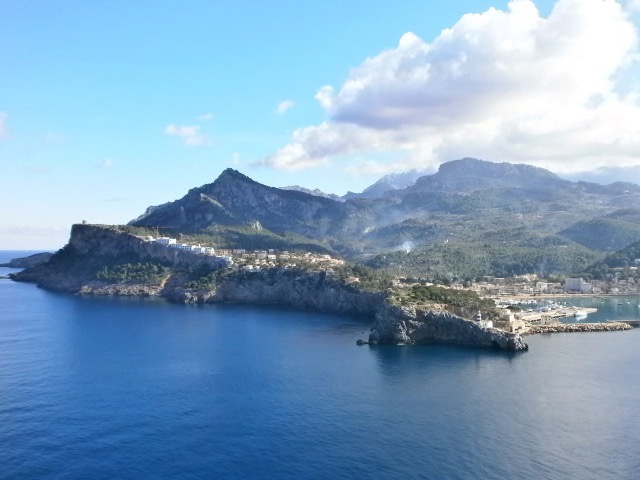 Port de Soller aus Richtung Es Faro