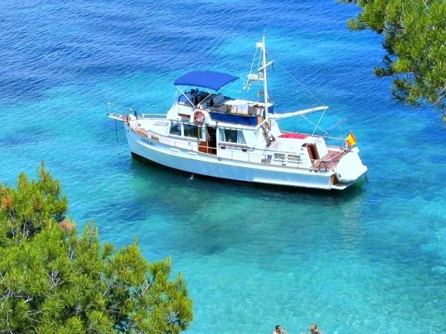 Mallorca Talks Hierbastour zu Wasser mit der Nostromo I
