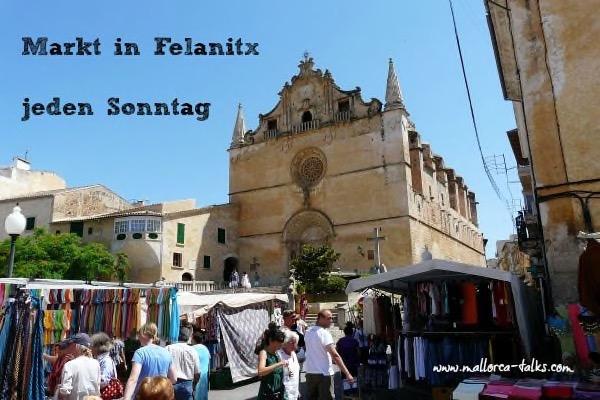 Blogparade Mallorca - Felanitx Markttag